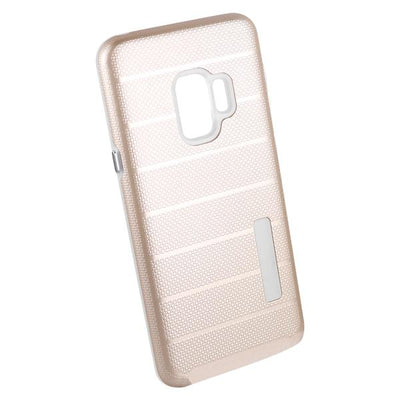 Clear Dual Layer Armor Case - Gold