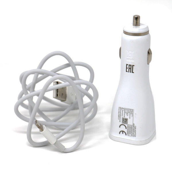 2 in 1 Fast Car Charger for iOS