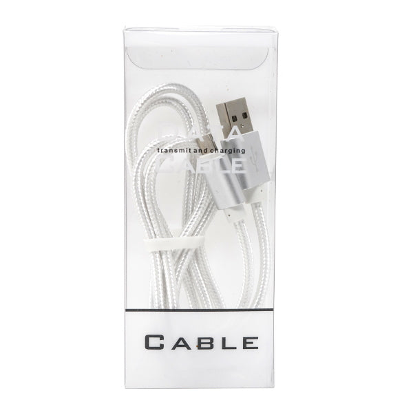 Colored Fabric Pattern Data and Charger Cable for Android (Micro USB)
