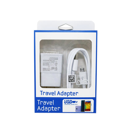 2 in 1 Travel Adapter for Android (Fast Charging)