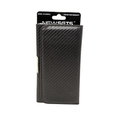 NEWSETS Carbon Texture Belt Clip Holster / Pouch for iPhone