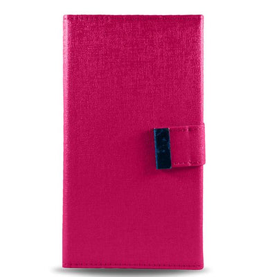 Detachable Double Magnet Wallet Apple iPhone 6/6S Case - Pink