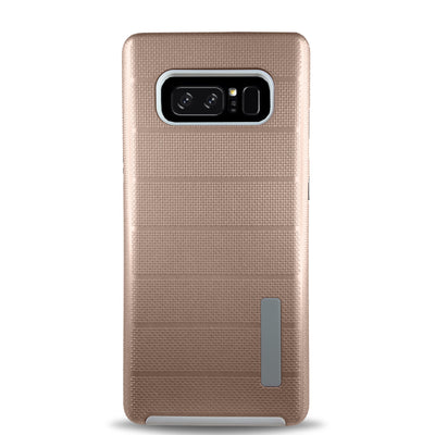 Clear Dual Layer Armor Case - Rose Gold
