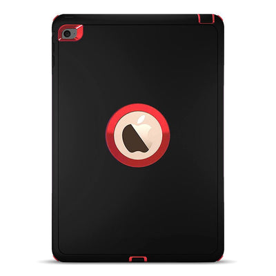 Defender Case for iPad Air 2/Pro 9.7 - Black & Red