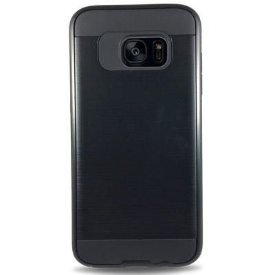 J & J Case for Samsung S6 Edge - Black
