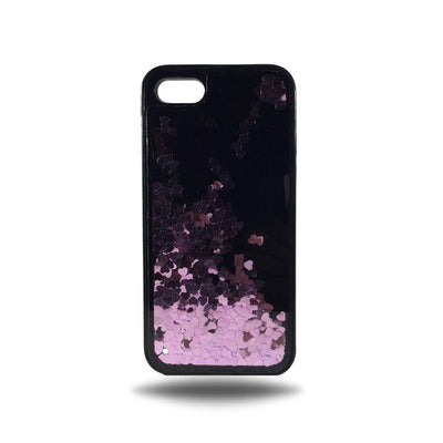 Heart Glitter Liquid Case for Iphone 6 / 6S - Pink