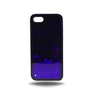 Heart Glitter Liquid Case for Iphone 6 / 6S - Purple