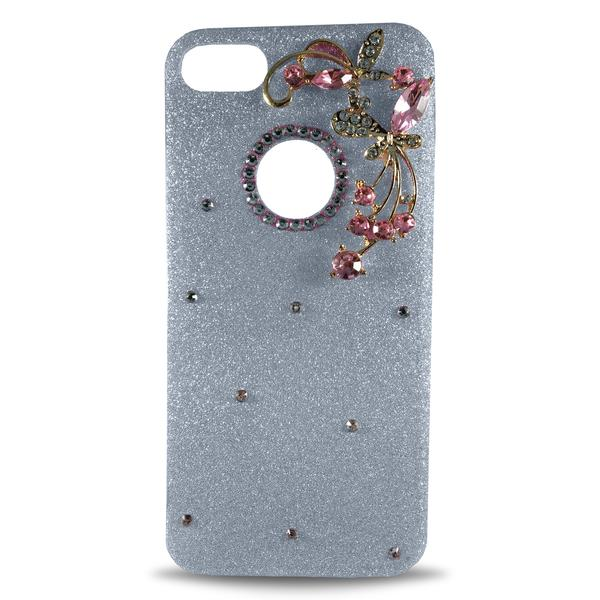Dekkin Flower Glitter Apple iPhone 8 Plus/7 Plus Case - Green