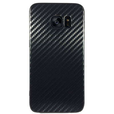 Carbon Fiber Case for Samsung S6 Edge - Black