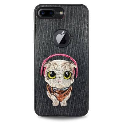 Pet Cat Case for iPhone 6/6S - Black