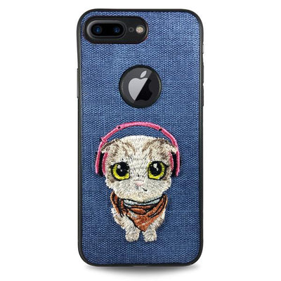 Pet Cat Case for iPhone 6/6S - Blue