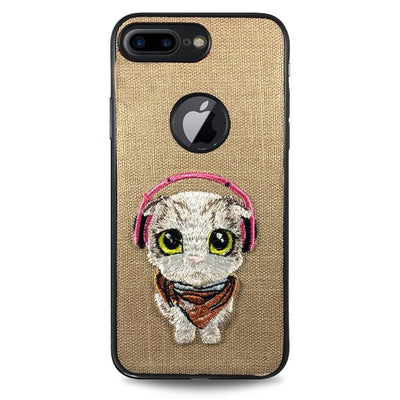 Pet Cat Case for iPhone 6/6S - Gold