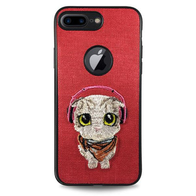 Pet Cat Case for iPhone 6/6S - Red