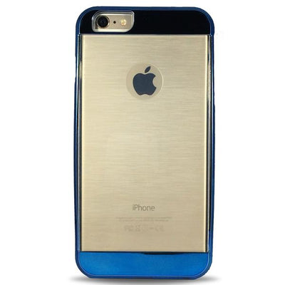 Clear Bumper Case for iPhone 5/5S/5SE - Blue