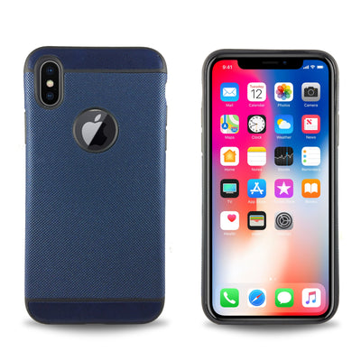 Denim Case for iPhone X - Navy Blue