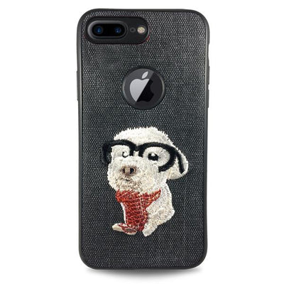 Pet Smart Dog Case for iPhone 6/6S - Black