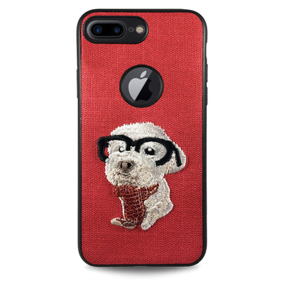 Pet Smart Dog Case for iPhone 6/6S - Red