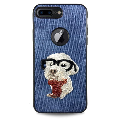 Pet Smart Dog Case for iPhone 6/6S - Blue