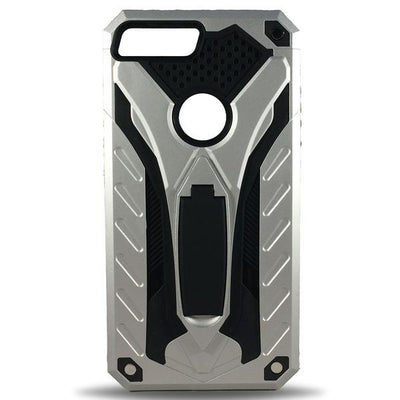 Armor Stand Apple iPhone 8 Plus/7Plus Case - Silver
