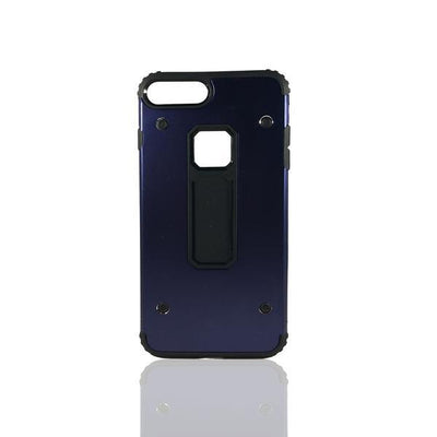 Rugged 4 Dot Apple iPhone 8 Plus/7 Plus Case - Navy Blue