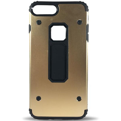 Rugged 4 Dot Apple iPhone 8 Plus/7 Plus Case - Gold
