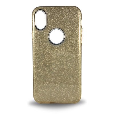 Glitter Case for iPhone X - Gold