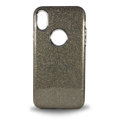 Glitter Case for iPhone X - Grey