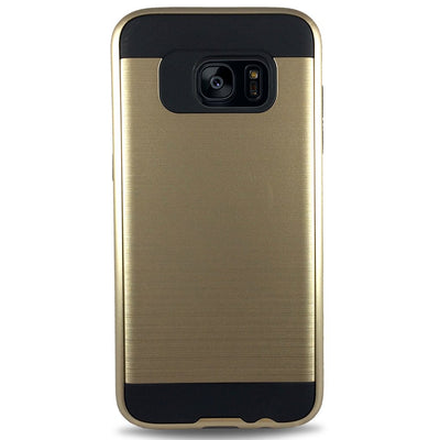 J & J Case for Samsung S6 Edge - Gold