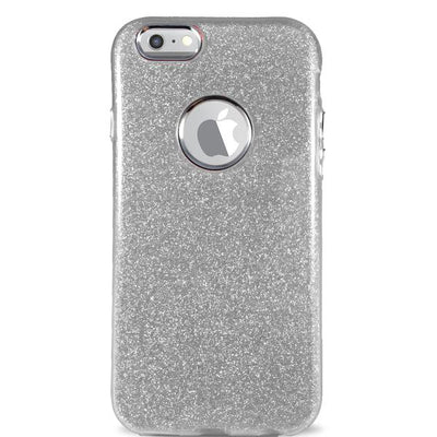 Glitter Case for iPhone 6/6S - Silver
