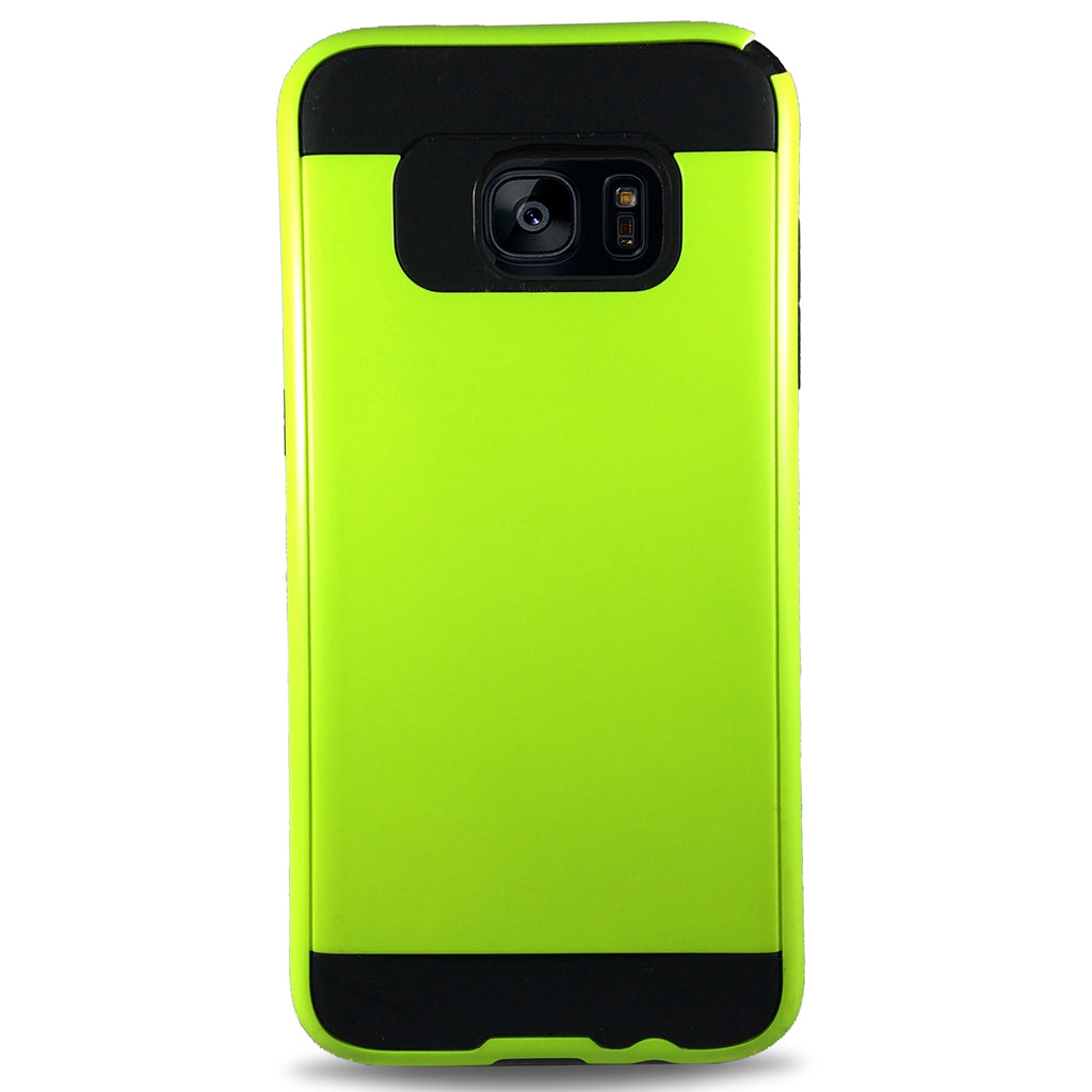 J & J Case for Samsung S7 Edge - Green