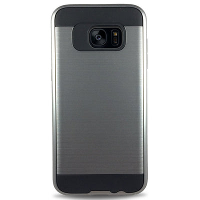 J & J Case for Samsung S6 Edge - Grey