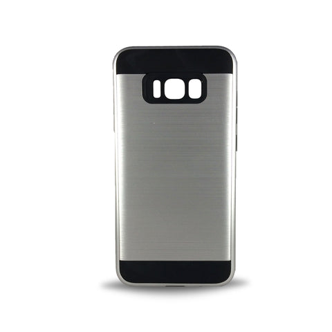 J & J Case for Samsung S8 Plus - Silver