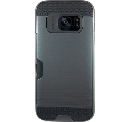 Mega Card Case for Samsung S6 Edge - Navy Blue