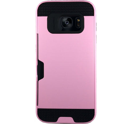 Mega Card Case for Samsung S6 Edge - Pink