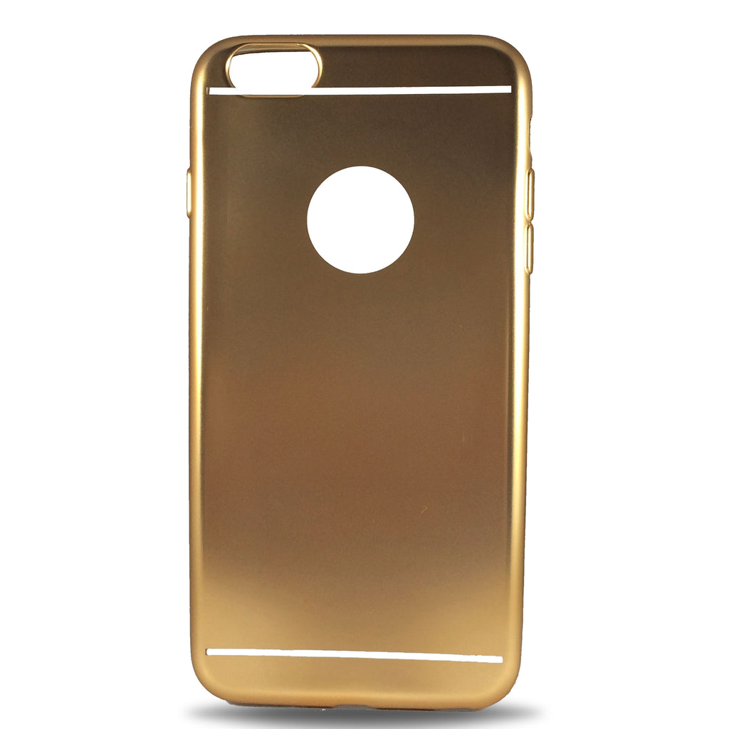 Metal Soft Case for iPhone 7 - Gold