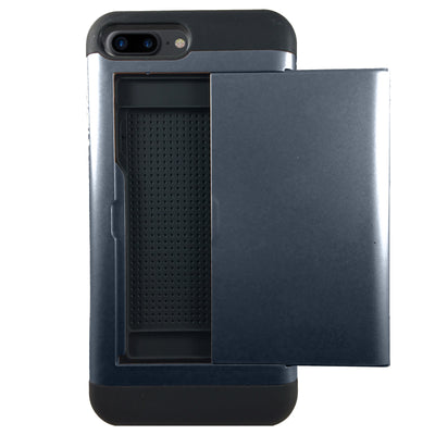Protective Rugged Slide Card Apple iPhone Case