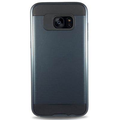 J & J Case for Samsung S6 Edge - Navy