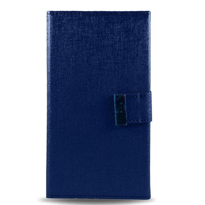 Detachable Double Magnet Wallet Apple iPhone 6/6S Case - Blue
