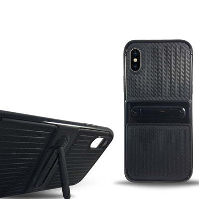 Dama Kickstand Case for Iphone X - Black