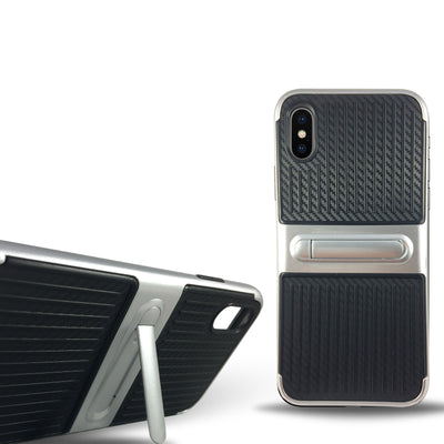 Dama Kickstand Case for Iphone X - Silver