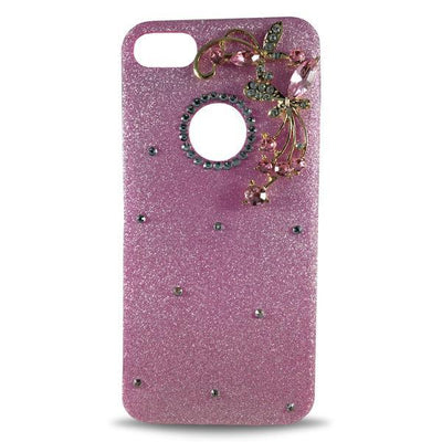 Dekkin Flower Glitter Apple iPhone 8 Plus/7 Plus Case - Pink