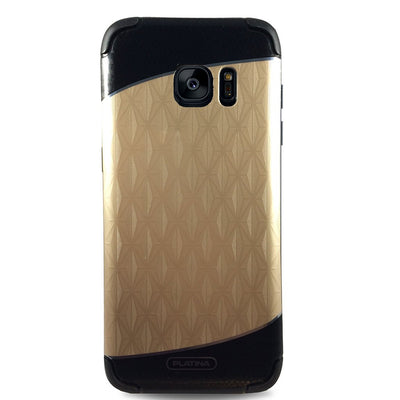 Platina Diamond Case for Samsung S7 - Gold