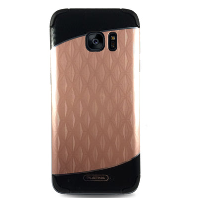 Platina Diamond Case for Samsung S7 - Rose Gold