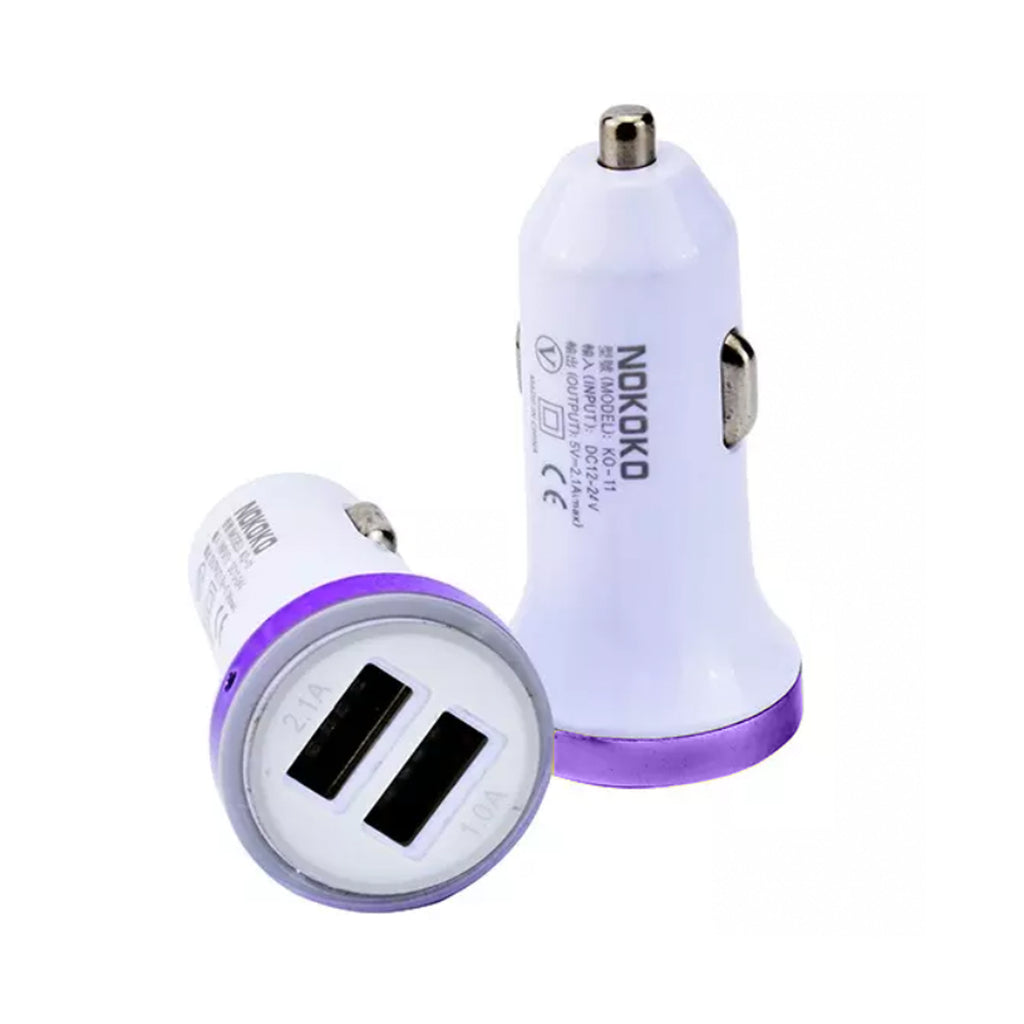 Two Eyes 5V Car Adapter