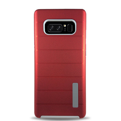 Clear Dual Layer Armor Case - Red