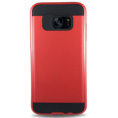 J & J Case for Samsung S6 Edge - Red