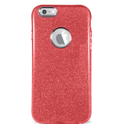 Glitter Case for iPhone 7 & 8 - Red