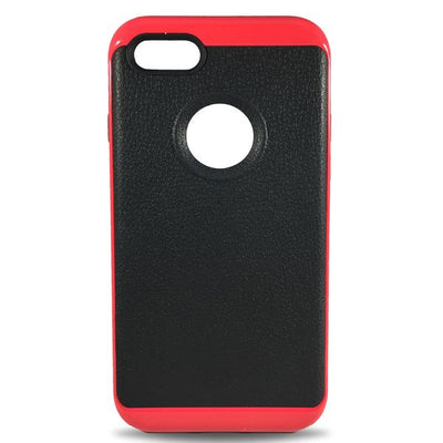 Hybrid Case for iPhone 5/5S/5SE - Red