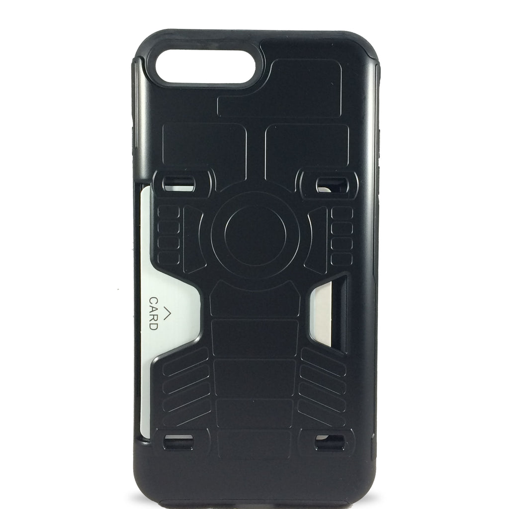Robocard Case for iPhone 8Plus/7 Plus - Black
