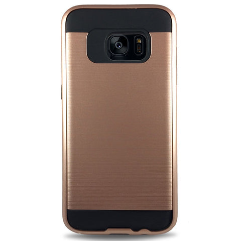 J & J Case for Samsung S7 Edge - Rose Gold